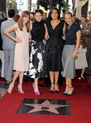 Mariska Hargitay, Hilary Swank, Maria Bello, Debra Messing - Hollywood - 08-11-2013 - Mariska Argitay è la stella 2511 della Walk Of Fame