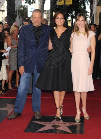 Dick Wolf, Mariska Hargitay, Hilary Swank - Hollywood - 08-11-2013 - Mariska Argitay è la stella 2511 della Walk Of Fame