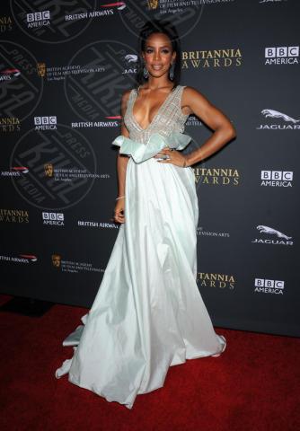Kelly Rowland - Beverly Hills - 09-11-2013 - Kelly Rowland è incinta del suo primo figlio