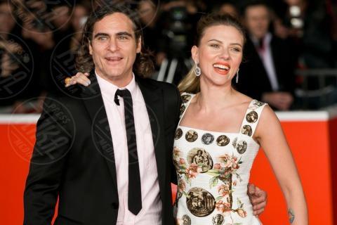 Joaquin Phoenix, Scarlett Johansson - Roma - 09-11-2013 - Scarlett Johansson esclusa dai Golden Globe