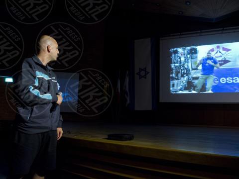 """Luca Parmitano - Jerusalem - 24-10-2013 - Luca Parmitano: """"Sono a casa"""". E' finita la missione Volare"""