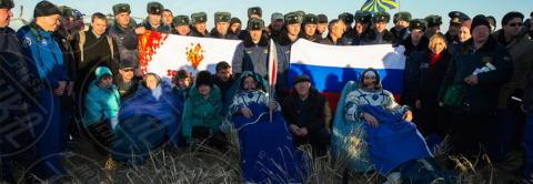 """Luca Parmitano - Kazakistan - 11-11-2013 - Luca Parmitano: """"Sono a casa"""". E' finita la missione Volare"""