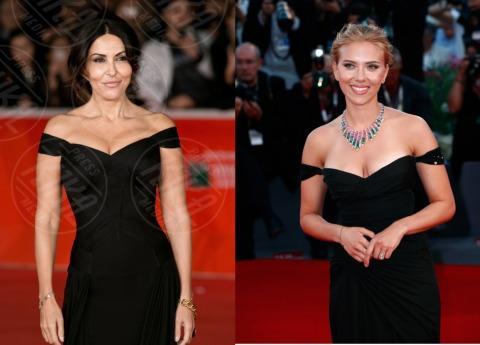 Sabrina Ferilli, Scarlett Johansson - 11-11-2013 - Italiane vs straniere: chi lo indossa meglio?