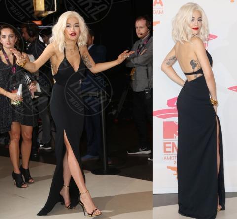 Rita Ora - Amsterdam - 11-11-2013 - Vade retro abito! Miley Cyrus in NY Vintage agli EMA