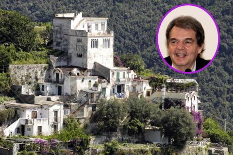 06-07-2013 - In Costiera Amalfitana il buen retiro di Renato Brunetta