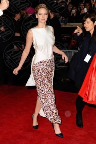 Jennifer Lawrence - Londra - 12-11-2013 - Jennifer Lawrence, i look migliori della ragazza di fuoco