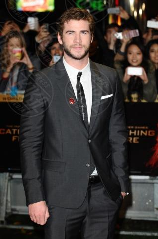 Liam Hemsworth - Londra - 12-11-2013 - Jennifer Lawrence: la ragazza di fuoco infiamma Londra