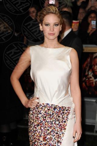 Jennifer Lawrence - Londra - 12-11-2013 - Jennifer Lawrence: la ragazza di fuoco infiamma Londra