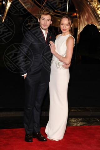 Laura Haddock, Sam Claflin - Londra - 12-11-2013 - Jennifer Lawrence: la ragazza di fuoco infiamma Londra