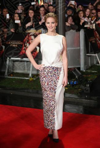 Jennifer Lawrence - Londra - 11-11-2013 - Jennifer Lawrence: la ragazza di fuoco infiamma Londra