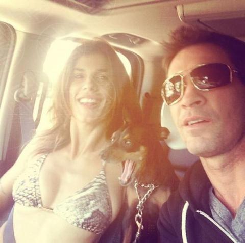 Brian Perri, Elisabetta Canalis - Los Angeles - 11-11-2013 - Dillo con un tweet: è Brian Perri il fidanzato della Canalis