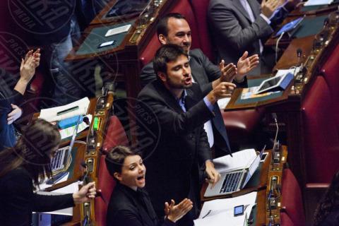 Alessandro Di Battista - Camera dei Deputati - Roma - 12-11-2013 - La prima volta di Di Battista da Barbara D'Urso