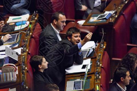 Alessandro Di Battista - Roma - 12-11-2013 - La prima volta di Di Battista da Barbara D'Urso