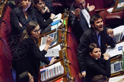 Alessandro Di Battista - Camera dei Deputati - Roma - 12-11-2013 - Montecitorio, è il giorno della Tav Torino-Lione