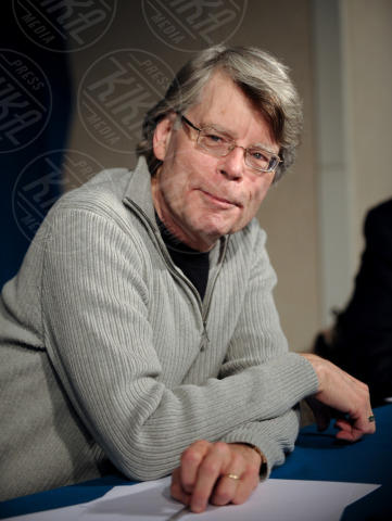 Stephen King - Parigi - 12-11-2013 - La Warner Bros. rende nota la data d'uscita del remake di It
