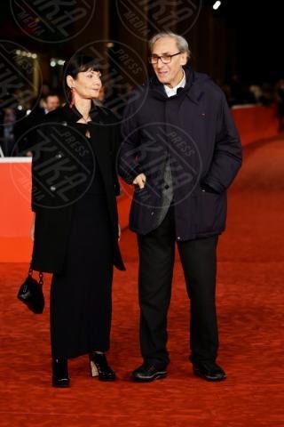 Elisabetta Sgarbi, Franco Battiato - Roma - 11-11-2013 - Festival di Roma : i fratelli Sgarbi fanno il bis