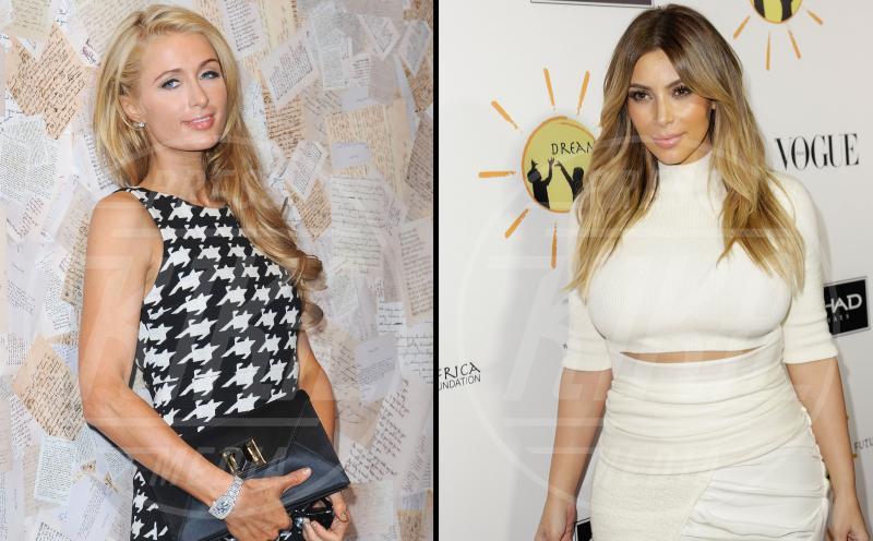 Kim Kardashian, Paris Hilton - Los Angeles - 13-11-2013 - Amici mai, per chi si odia come noi!