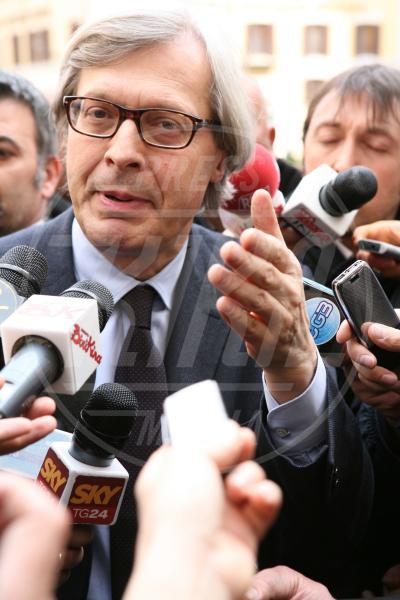 Vittorio Sgarbi - Los Angeles - 13-11-2013 - Amici mai, per chi si odia come noi!