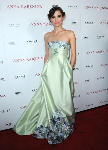 Keira Knightley - Los Angeles - 14-11-2012 - Keira Knightley, da calciatrice a femme fatale