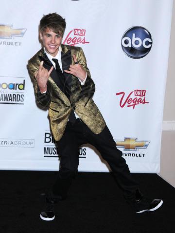 Justin Bieber - Las Vegas - 22-05-2011 - Madonna batte Gaga: è lei la musicista più ricca per Forbes