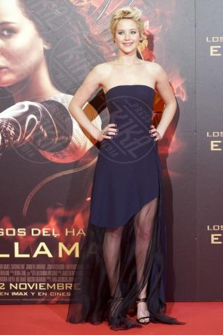 Jennifer Lawrence - Madrid - 13-11-2013 - Grazie a Dior, Jennifer Lawrence è una regina sul red carpet!