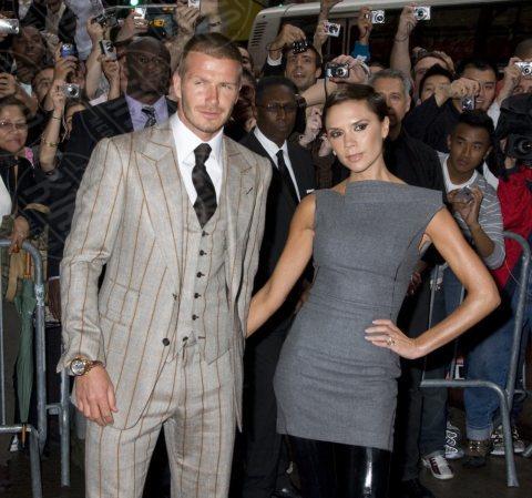 David Beckham, Victoria Beckham - Los Angeles - 07-02-2011 - I Beckham traslocano a casa di Gianni Versace