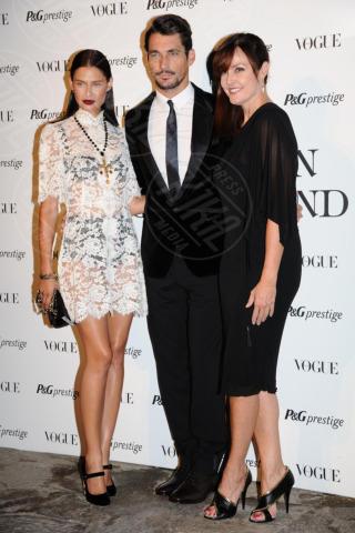 Joanne Crewes, David Gandy, Bianca Balti - Milano - 19-09-2013 - Lorenza Izzo e Bianca Balti: chi lo indossa meglio?
