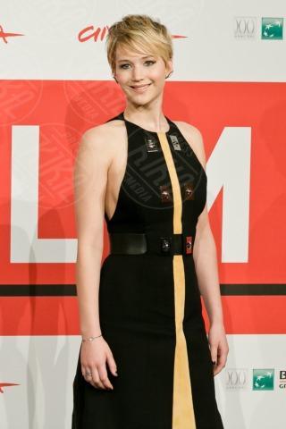 Jennifer Lawrence - Roma - 13-11-2013 - Festival di Roma: finalmente la tanto attesa Jennifer Lawrence