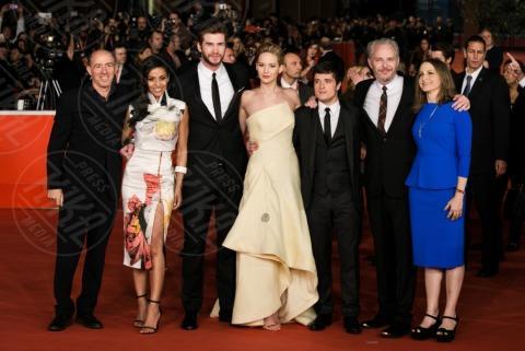 cast - Roma - 13-11-2013 - Festival di Roma: delirio per Jennifer Lawrence