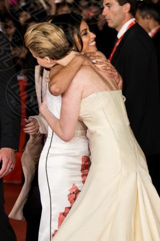 Jennifer Lawrence, Meta Golding - Roma - 13-11-2013 - Festival di Roma: delirio per Jennifer Lawrence