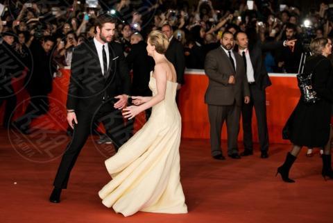 Liam Hemsworth, Jennifer Lawrence - Roma - 13-11-2013 - Festival di Roma: delirio per Jennifer Lawrence