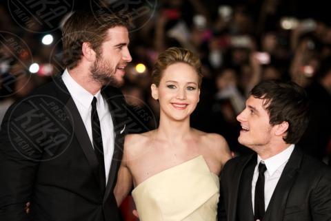 Liam Hemsworth, Jennifer Lawrence, Josh Hutcherson - Roma - 13-11-2013 - Festival di Roma: delirio per Jennifer Lawrence