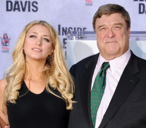 Molly Goodman, John Goodman - Hollywood - 14-11-2013 - John Goodman lascia l'impronta su Hollywood