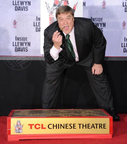 John Goodman - Hollywood - 14-11-2013 - John Goodman lascia l'impronta su Hollywood