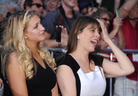 Molly Goodman, Anna Beth Goodman - Hollywood - 14-11-2013 - John Goodman lascia l'impronta su Hollywood