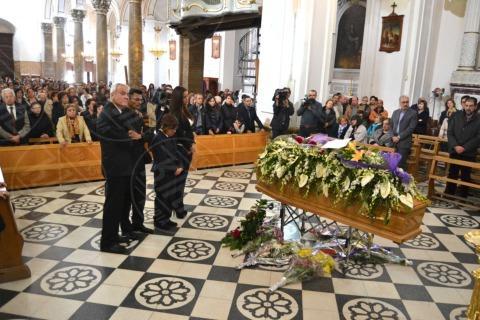 Funerali Maria Grazia Trecarichi - Leonforte - 14-11-2013 - Leonforte dà l'ultimo saluto a Maria Grazia Trecarichi