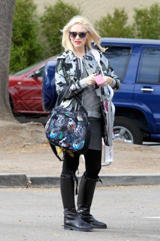 Gwen Stefani - Los Angeles - 17-11-2013 - Le star che si mimetizzano nella giungla metropolitana