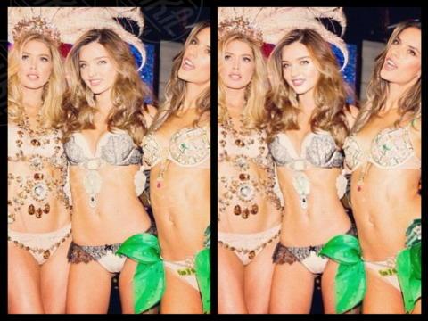 Doutzen Kroes, Miranda Kerr, Alessandra Ambrosio - 18-11-2013 - Mariah Carey: ancora una volta un'irreale magrezza