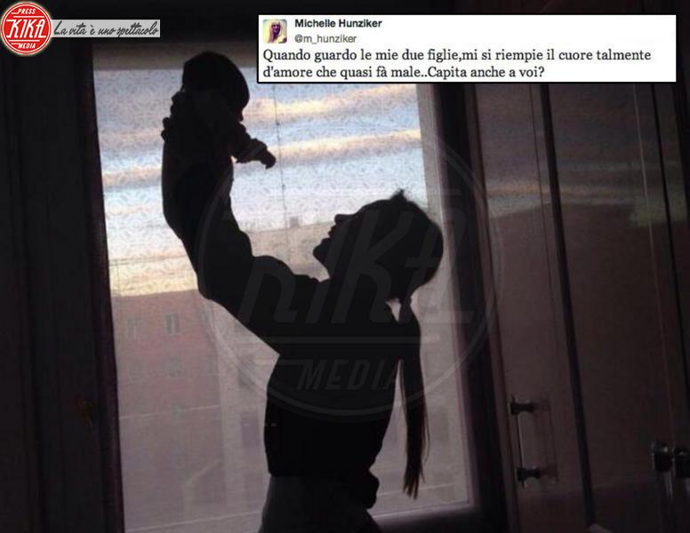 Aurora Ramazzotti, Michelle Hunziker - Los Angeles - 18-11-2013 - Dillo con un tweet: Sole e Aurora sono l'orgoglio di Michelle