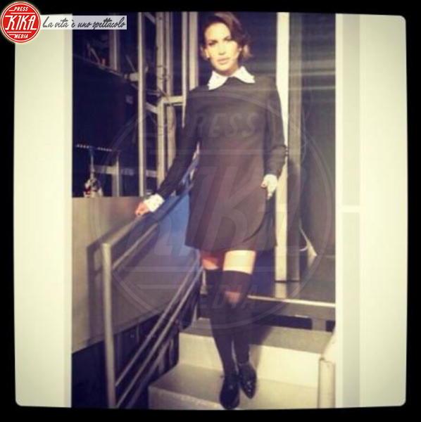 Claudia Galanti - Los Angeles - 18-11-2013 - Dillo con un tweet: Sole e Aurora sono l'orgoglio di Michelle