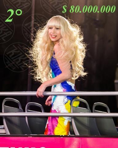 Lady Gaga - New York - 14-11-2013 - Madonna batte Gaga: è lei la musicista più ricca per Forbes