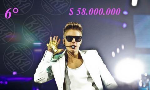 Justin Bieber - 23-04-2013 - Madonna batte Gaga: è lei la musicista più ricca per Forbes