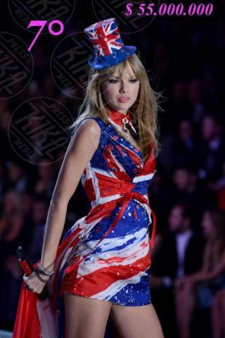 Taylor Swift - Manhattan - 14-11-2013 - Madonna batte Gaga: è lei la musicista più ricca per Forbes