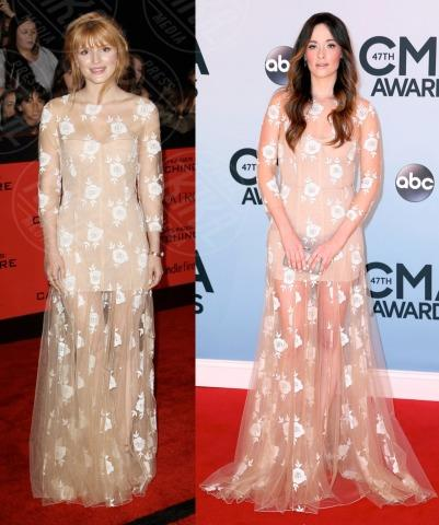 Kacey Musgraves, Bella Thorne - 20-11-2013 - Zhao Wei e Bella Thorne: chi lo indossa meglio?