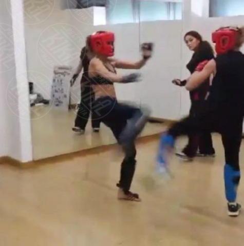 Maddalena Corvaglia, Elisabetta Canalis - Milano - 20-11-2013 - Mia Kang, da lottatrice a modella per Sports Illustrated