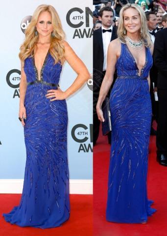 Miranda Lambert, Sharon Stone - 21-11-2013 - Miranda Lambert e Sharon Stone: chi lo indossa meglio?
