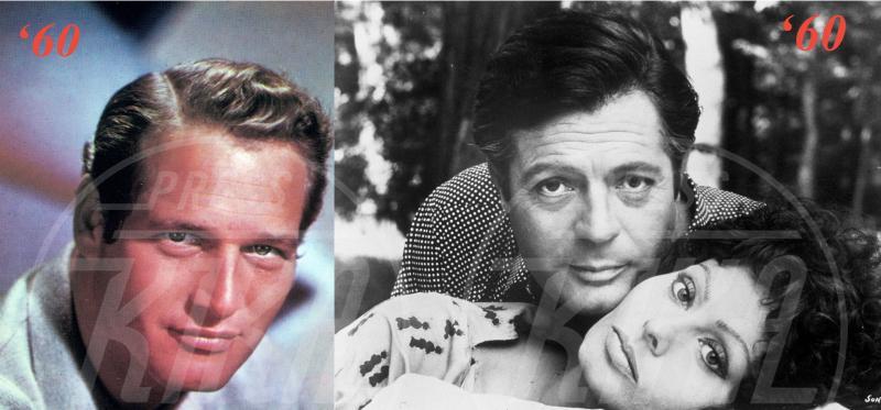Marcello Mastroianni, Sophia Loren, Paul Newman - 22-11-2013 - Da Cary Grant a Robert Pattinson: 70 anni di fascino maschile