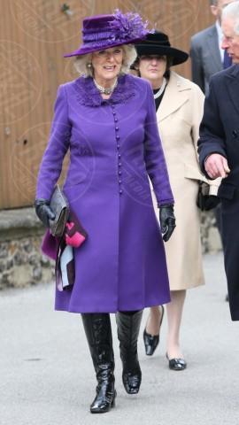 Principe Carlo d'Inghilterra, Camilla - Kent - 21-03-2013 - L'inverno è più romantico con il cappotto rosa!