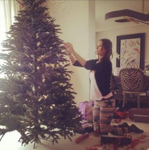 Elisabetta Gregoraci - Milano - 22-11-2013 - Dillo con un tweed: Naike Rivelli e lo yoga nuda