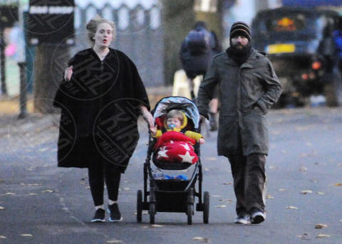 Angelo James Konecki, Simon Konecki, Adele - Londra - 24-02-2014 - Adele di nuovo single, i motivi della separazione